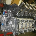Fuel injected FWMV V8 Climax